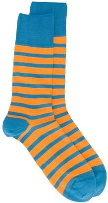 Falke Even Stripe ankle socks