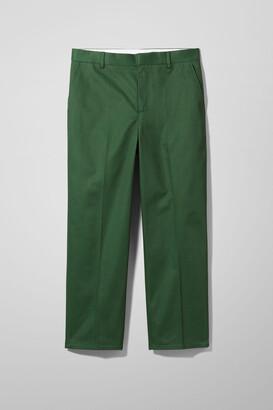 Weekday Tucker Trousers - Green