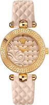 Versace VQM04 0015 Vanitas leather watch