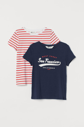 H&M 2-Pack Jersey Tops