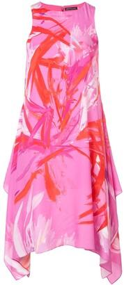 Josie Natori Prism Print Dress