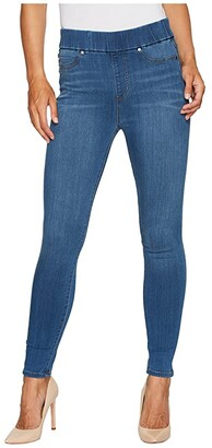 Liverpool Farrah High-Waist Pull-On Ankle in Silky Soft Denim in Coronado Mid (Coronado Mid) Women's Jeans