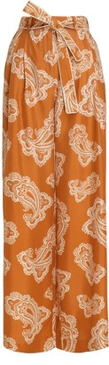 Zimmermann Wavelength Waist Tie Trouser