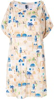 Thumbnail for your product : Lygia & Nanny Allat print tunic