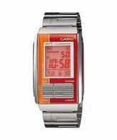 Casio #LA201W-4A Women's Futurist Metal Band Alarm Chronograph Digital Watch