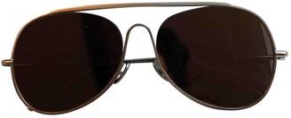 Acne Studios Grey Metal Sunglasses