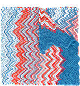 Missoni zig-zag scalloped scarf - women - Polyester/Viscose - One Size