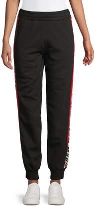 MSGM Resort Cotton Jogger Pants