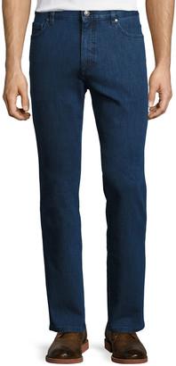 Ermenegildo Zegna Stretch-Denim Straight Regular-Fit Jeans