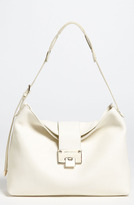 Jimmy Choo 'Rachel - Small' Grainy Calfskin Leather Shoulder Bag