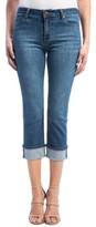 Liverpool Jeans Company Women's Stretch Wide Cuff Capri Jeans