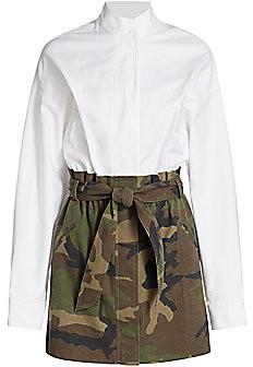 RtA Women's Niccola Combo Camo Dress