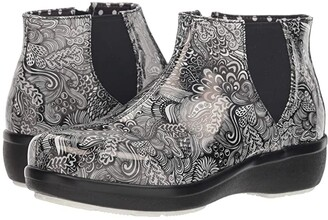 Alegria Climatease (Whack a Doodle Grey) Women's Boots
