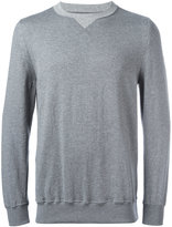 Sacai crew-neck sweatshirt - men - Cotton/Cashmere - 2