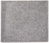 Maison Margiela Silver Glitter Bifold Wallet