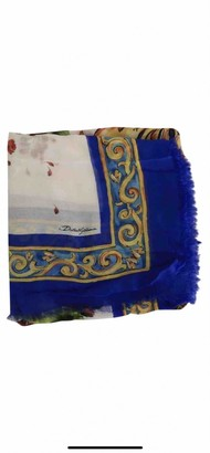 Dolce & Gabbana Multicolour Cashmere Scarves