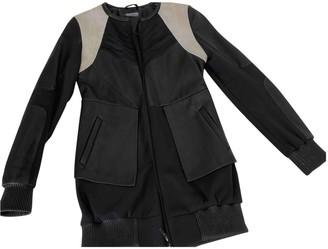 Francis Leon Black Leather Coats