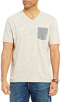 Daniel Cremieux Sonoran Trails Solid Space Dye V-Neck Short-Sleeve Tee