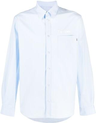 MSGM Turbo embroidered shirt