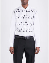 Dsquared2 Safety Pin-print Cotton Shirt