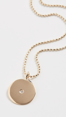 Ariel Gordon 14k Small Circle Pendant Necklace