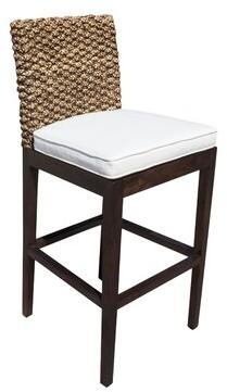 """Panama Jack Sunroom Sanibel 31.75"""" Bar Stool Upholstery: Standard"""