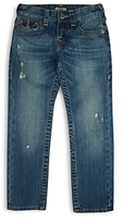 True Religion Boys' Geno Relaxed Slim Classic Jeans - Little Kid, Big Kid