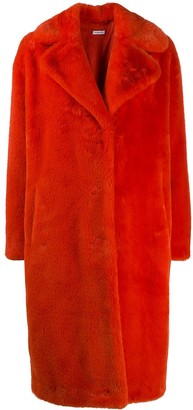 P.A.R.O.S.H. Oversized Faux-Fur Coat