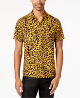 GUESS Men's Leopard-Print Shirt