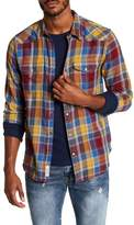 Lucky Brand Santa Fe Western Classic Fit Plaid Shirt