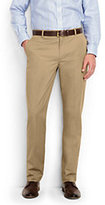 Lands' End Men's Tailored Fit Lightweight Chino Trousers-Lunar Navy