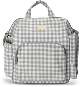 Carter's Frame-Up Gingham Diaper Backpack