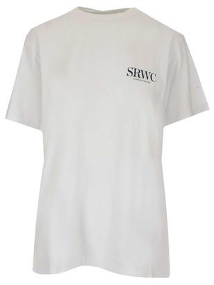 Sporty & Rich Upper East Side Print T-Shirt