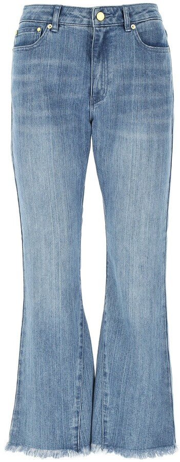 MICHAEL Michael Kors Cropped Flare Jeans