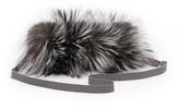 Maison Martin Margiela Silver Fox Fur Muff