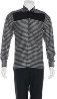 Lanvin Abstract Print Silk Shirt