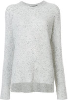 Baja East cashmere ribbed knitted top - women - Cashmere - 2