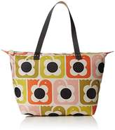 Orla Kiely Love Birds Print Zip Shopper