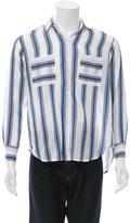 Paul & Joe Striped Button-Up Shirt