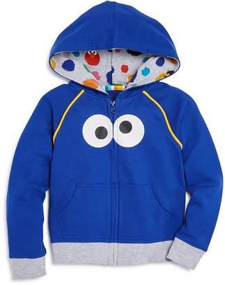 Sesame Street Isaac Mizrahi Loves Unisex Cookie Monster Hoodie, Baby, Little Kid - 100% Exclusive