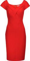 Badgley Mischka Day crepe dress