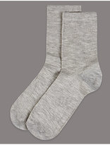 Autograph 2 Pair Pack Cashmere Blend Ankle High Socks