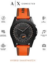 Armani Exchange Connected Men's Orange Hybrid Smartwatch