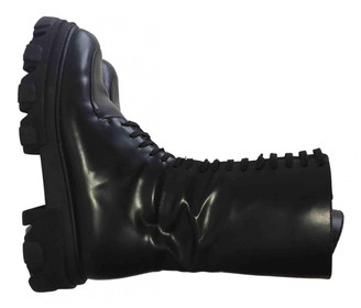Jonak Black Leather Ankle boots