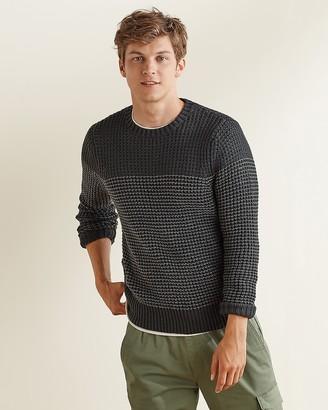 Express Upwest Waffle Knit Sweater