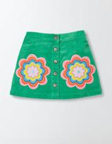 Boden Fun Appliqué Skirt