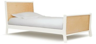 Oeuf Sparrow Twin Panel Bed Bed Frame Color: Walnut
