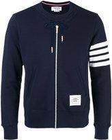 Thom Browne zip up sweatshirt - men - Cotton - 00