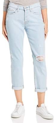 7 For All Mankind Josefina Ankle Boyfriend Jeans in Luxe Vintage Snowbird