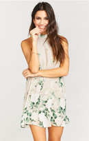 MUMU V-Right Back Mini Dress ~ Bouquet Toss